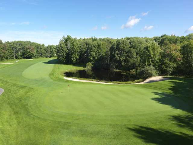 A view of the 12th hole at Moor from Boyne Highlands Resort