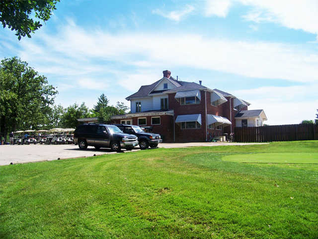 A view of the clubhouse at Cuba Lakes Golf Club
