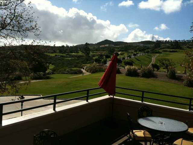 A view from the clubhouse at Bella Collina Towne & Golf Club