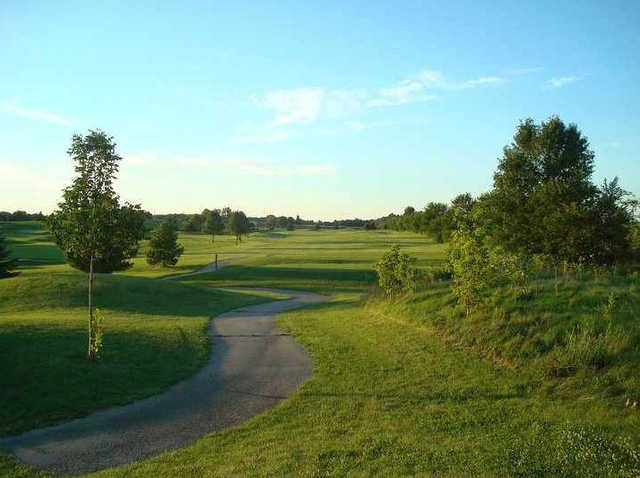 View of the 3rd hole at Jefferson Golf Club