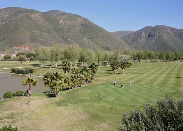 A view of a green at Baja Country Club