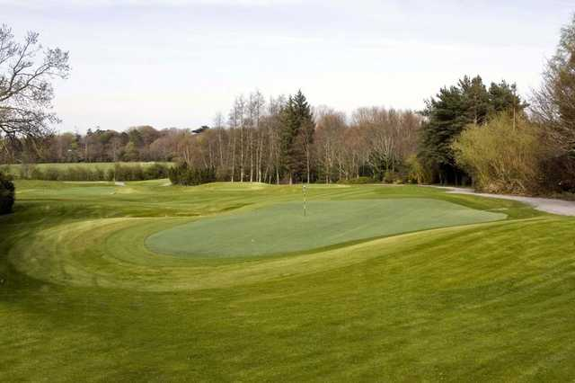 View of a green at Marlay Golf Course