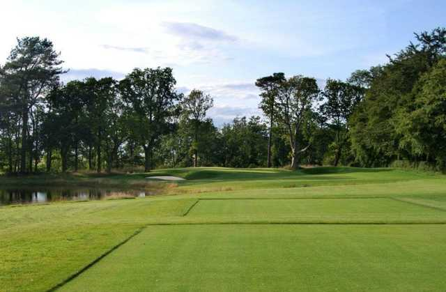 A view of from the 5th tee at Rowallan Castle Golf Club