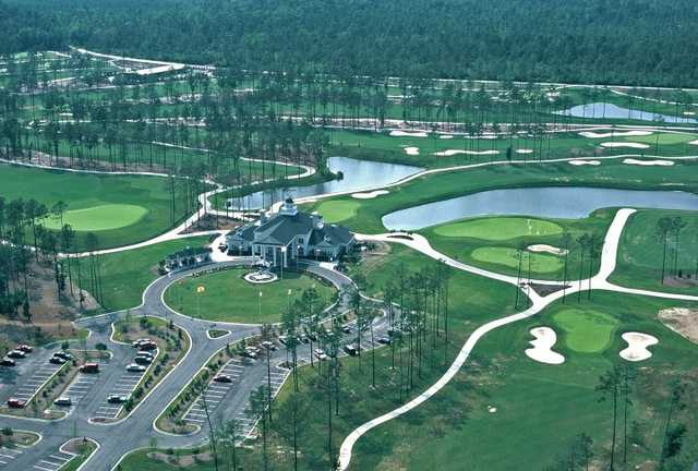 Aerial view from World Tour Golf Links