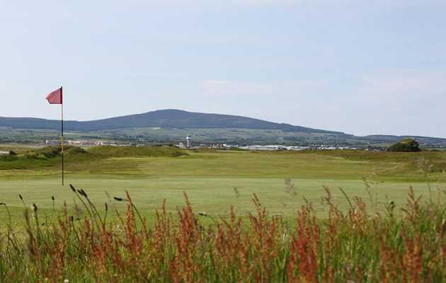 A view of the 11th green at Castletown Golf Club