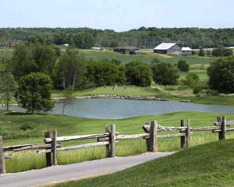 View from Rebel Creek GC's 10th hole