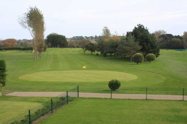 A view of a green at St Clements Golf & Sports Centre