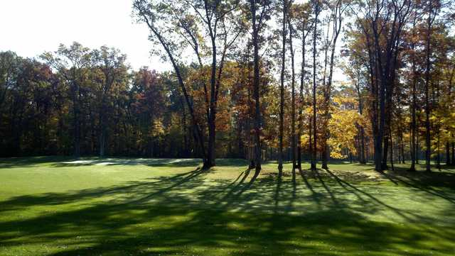 View of the 4th hole from the South Course at Spuyten Duyval Golf Club