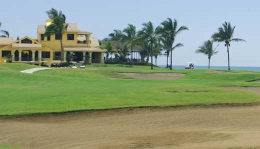 A view of the clubhouse at Estrella del Mar Golf and Beach Resort