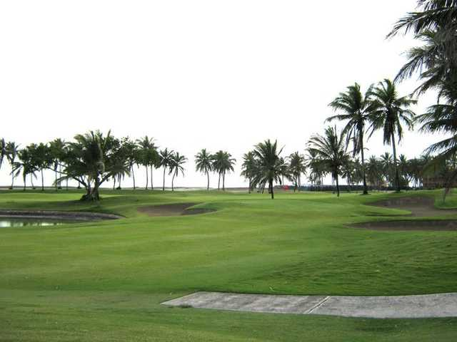 A view of a fairway at Estrella del Mar Golf and Beach Resort
