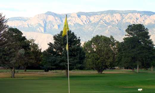 A view from a green at Paradise Hills Golf Course.