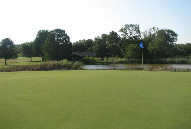 A view of the 14th hole at Falconhead Resort & Country Club