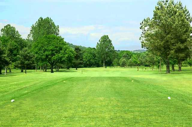 A view from tee #1 at Mond Valley Golf Club