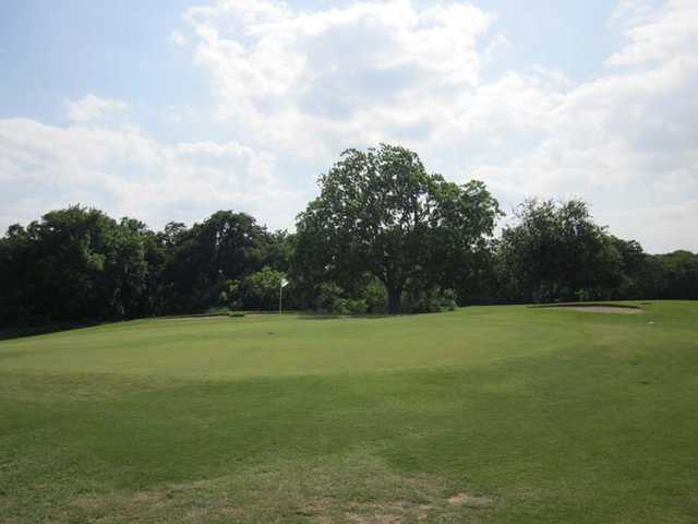 A view of the 3rd green at Webb Hill Country Club