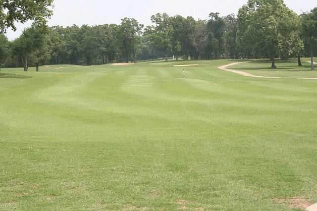 A view of a fairway at Fountainhead Creek Golf Club
