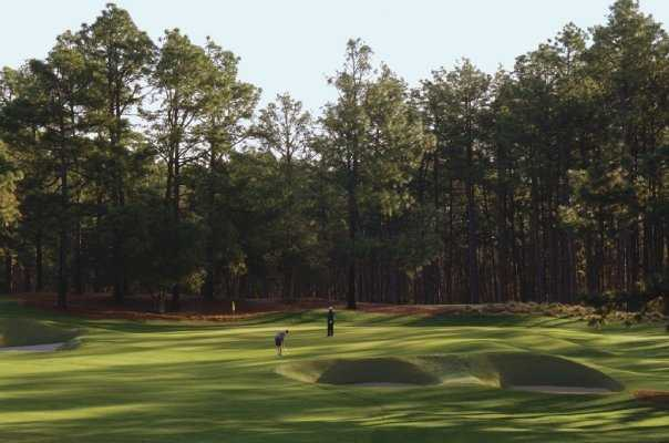 A view of hole #5 at Pine Needles Resort & Golf Club