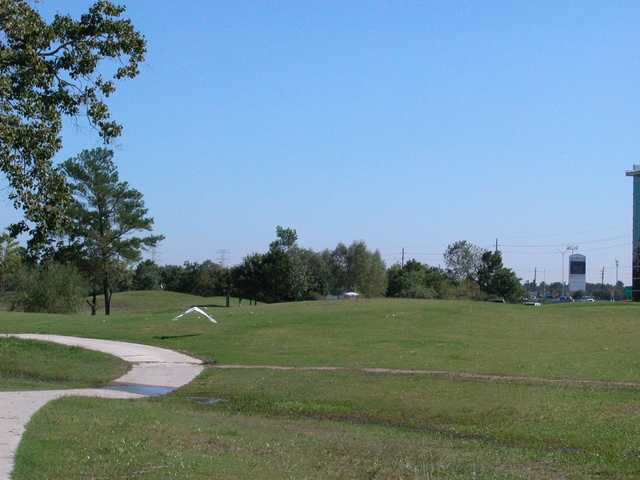 A view of a fairway at Heron Lakes Golf Course