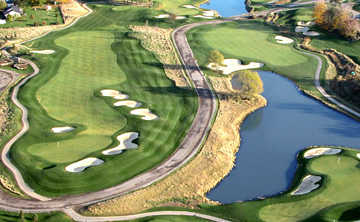 Aerial view of Willow Valley GC