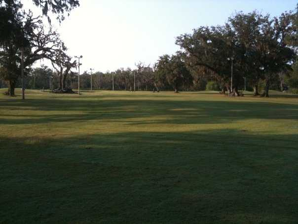 A view from West Brazos Golf Center