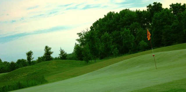 New Course at Knollwood GC: View from 14th green