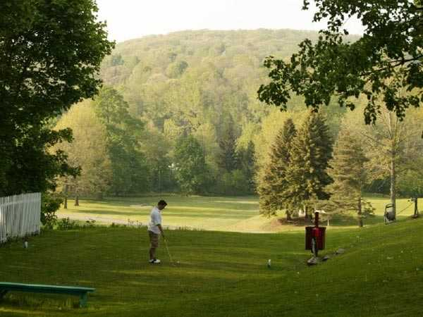 A view from a tee at Hornell Golf Club