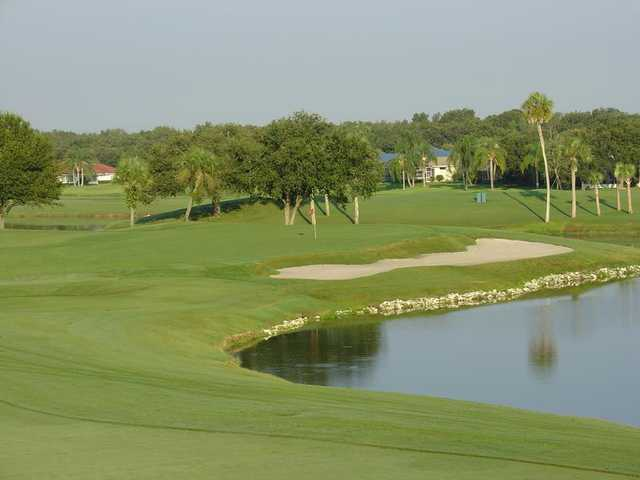 A view of the 6th hole at The Club at River Wilderness.