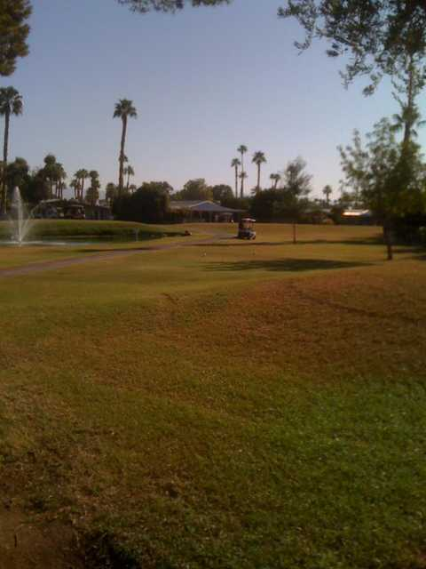 A view from fairway #16 at Date Palm Country Club