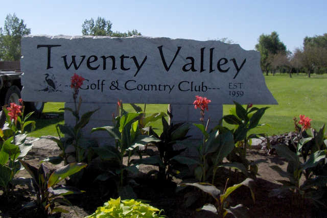 View from Twenty Valley Golf and Country Club