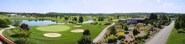 Panoramic view from Rockway Vineyards Golf Course