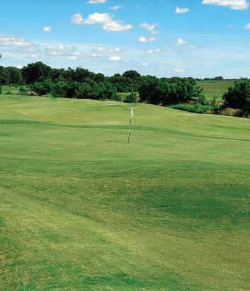 A view of a hole at Rockwood Golf Course