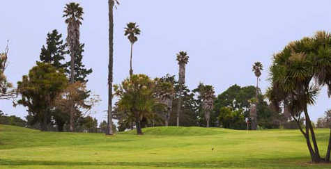 A view of a fairway at Salinas Fairways Golf Course