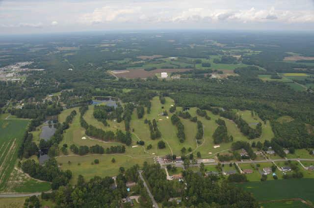 Aerial view of Fairmont Golf Club