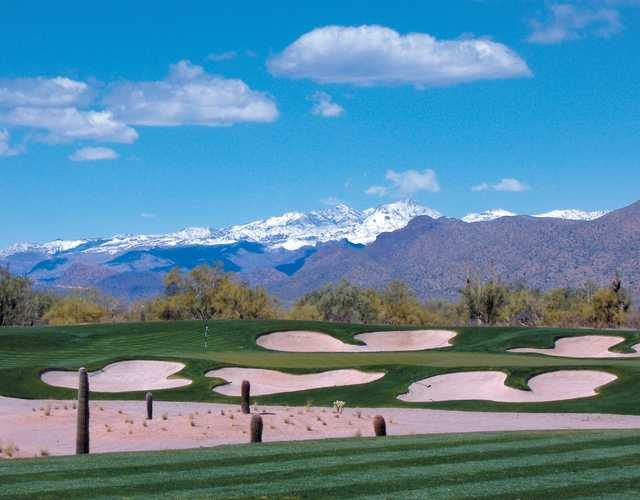 A view of the 4th hole at Verde River Golf & Social Club