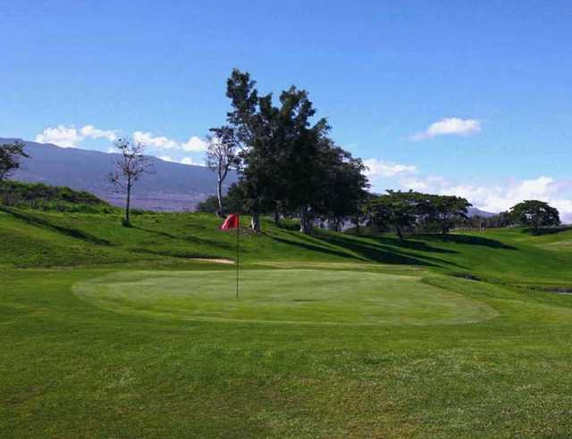 A view of the 15th hole at Makani Golf Club (John Kitchen)