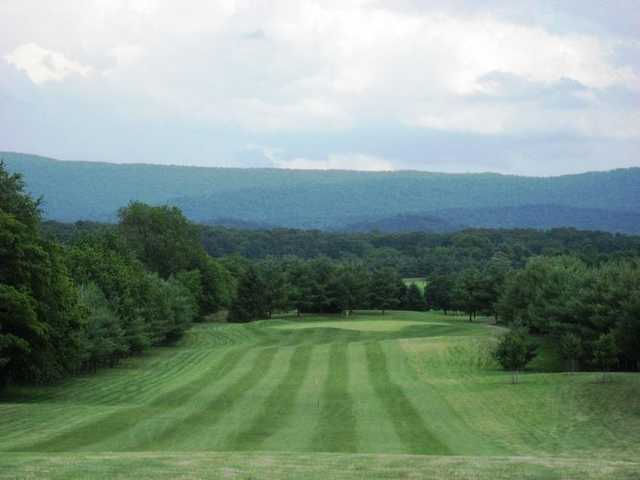 A view of a fairway at Bowling Green Country Club