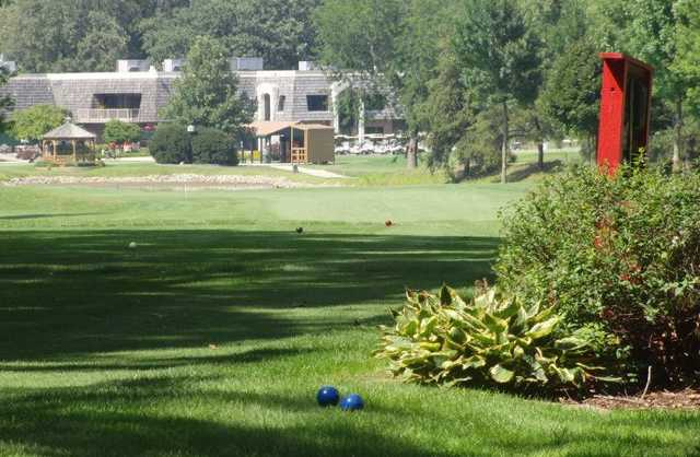 A view of the clubhouse at Kankakee Elks Country Club