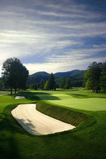 Old White at Greenbrier - View from #3
