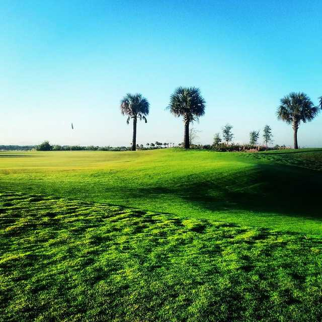 A view of a green at Osprey Point Golf Club