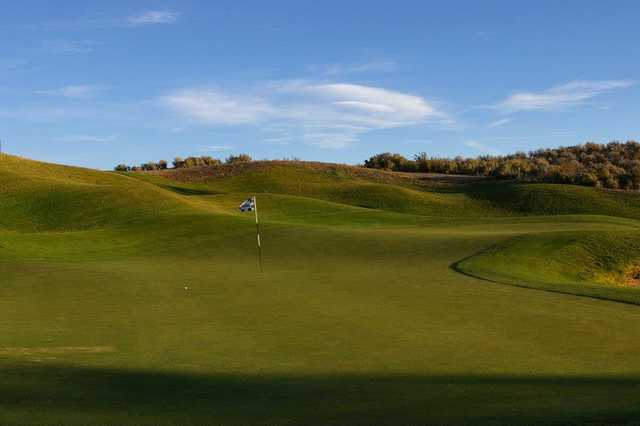 A view of hole #7 at Sunridge Golf Club (Wes Hull)