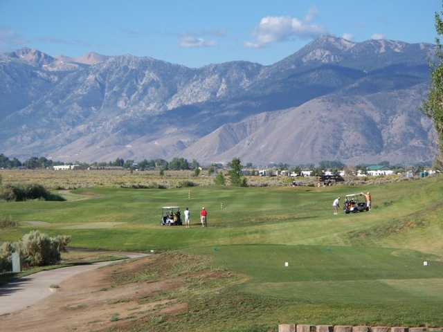 A view from a tee at Sunridge Golf Club