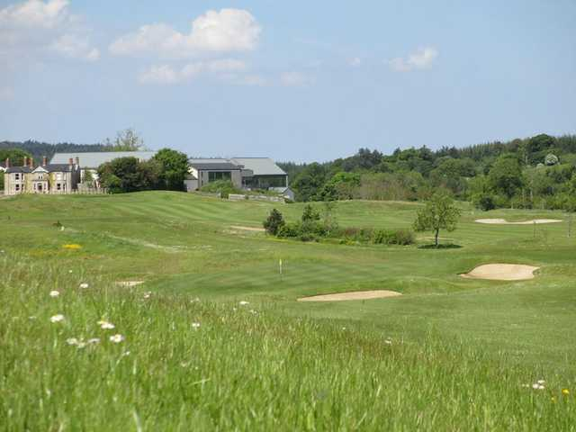 A view of green #14 at Castle Dargan Golf Club