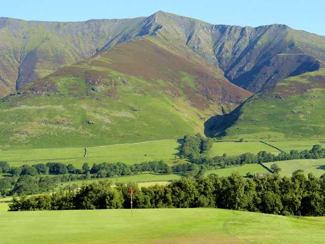 View of a hole from Keswick Golf Club