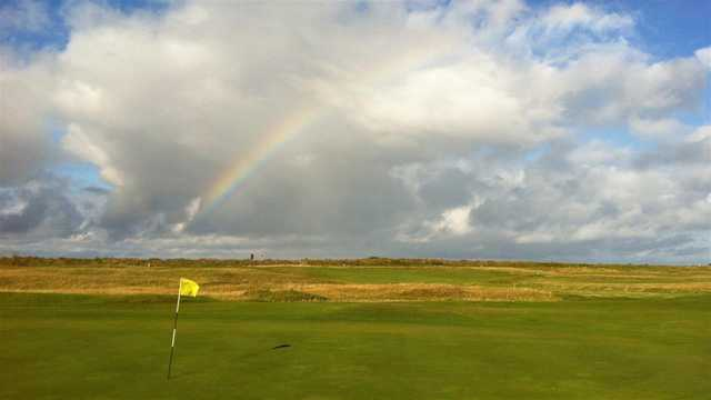 A view of a hole at Minehead & West Somerset Golf Club