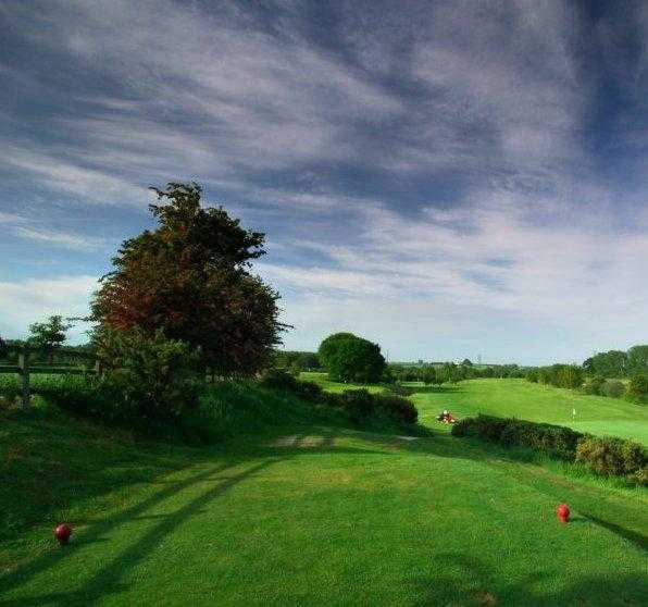A view from tee #5 at Derwent Course from Malton & Norton Golf Club