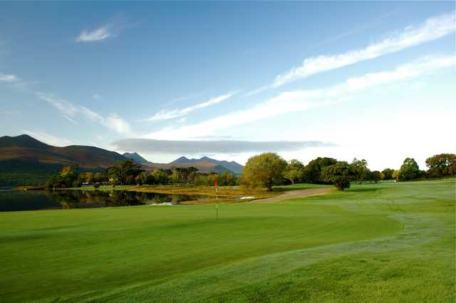 A view from  Killarney Golf and Fishing Club.