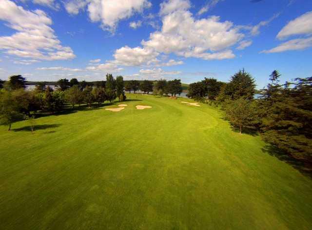 A view of a fairway at Beaverstown Golf Club