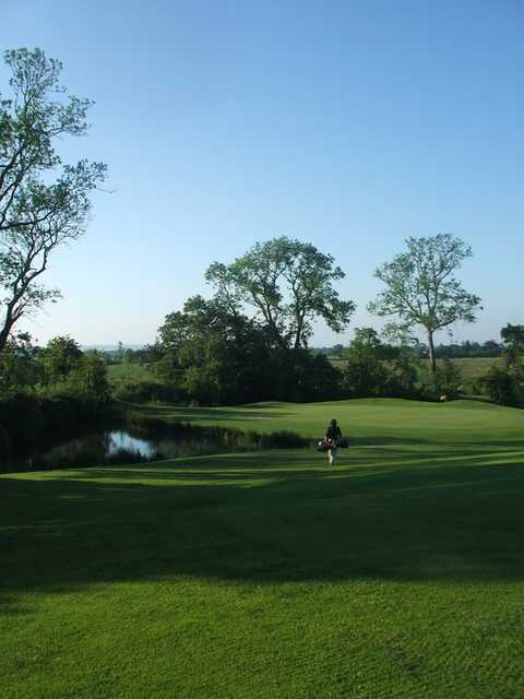A view from fairway #8 at Bellewstown Golf Club