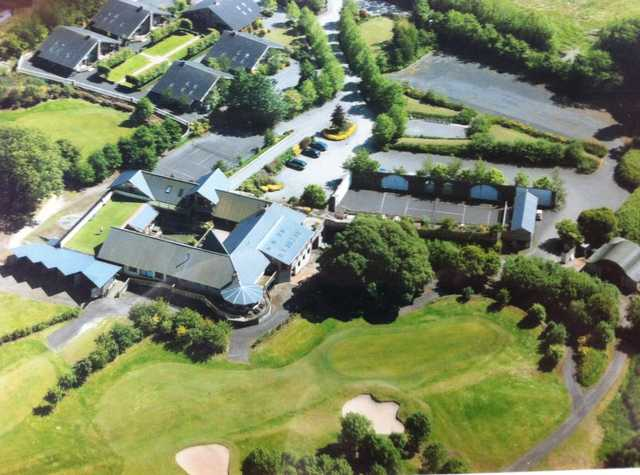 Aerial view from Highfield Golf Club