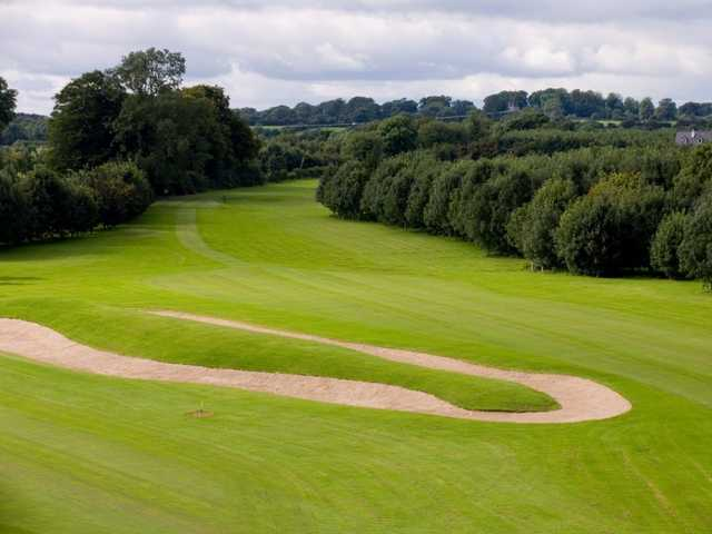 A view of a fairway at Highfield Golf Club