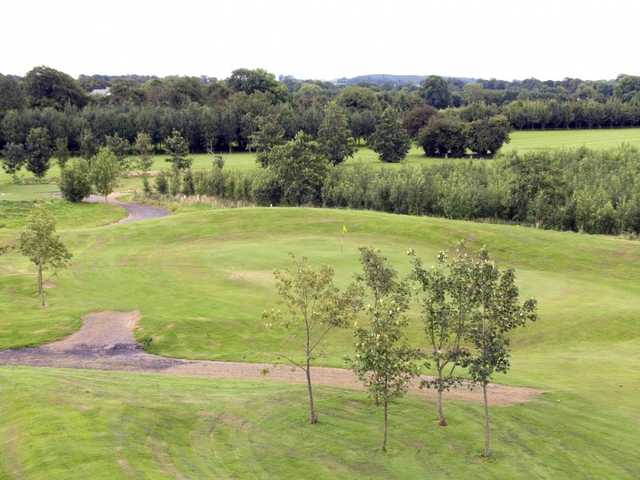 A view of a hole at Highfield Golf Club